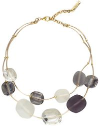 Lafayette 148 New York - Lucite Stone Necklace - Lyst