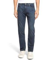 PAIGE - Federal Transcend Slim Straight Leg Jeans - Lyst