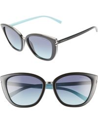 9c7c1b4307ae Lyst - Tiffany   Co Tiffany Women s Tf4092 56mm Sunglasses