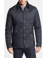 Barbour - 'heritage Liddesdale' Slim Fit Quilted Jacket - Lyst