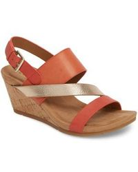 Comfortiva - Vail Wedge Sandal - Lyst