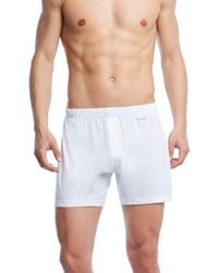 2xist - Pima Cotton Knit Boxers - Lyst