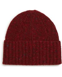 Drake's - Drakes Donegal Wool Beanie - - Lyst