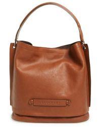 Longchamp - '3d' Leather Hobo - Lyst