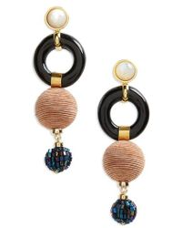 Lizzie Fortunato - Loop Chain Earrings - Lyst