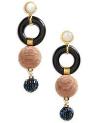 Lizzie Fortunato   Loop Chain Earrings   Lyst