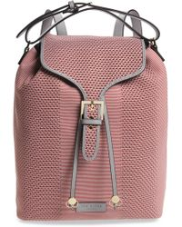 Ted Baker - Inkypop Knit Backpack - Coral - Lyst