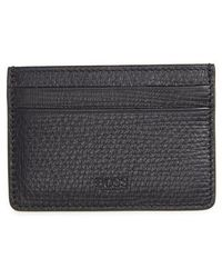 BOSS | Timeless Leather Card Case | Lyst