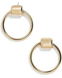 BaubleBar - Rayne Hoop Earrings - Lyst