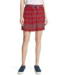 Tretorn - Pleated Miniskirt - Lyst