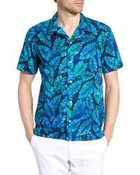 JEFF - Kailua Trim Fit Print Sport Shirt - Lyst