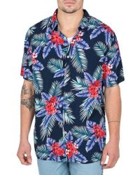 Barney Cools - Floral Camp Shirt - Lyst