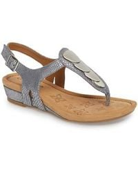 Comfortiva | Summit Wedge Sandal | Lyst
