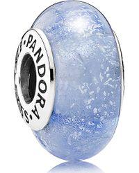 PANDORA - Disney Cinderella's Signature Color Charm - Lyst