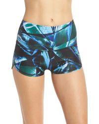 Zella - So Hot High Waist Shorts - Lyst