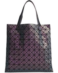 Bao Bao Issey Miyake - Prism Metallic Tote Bag - Purple - Lyst 5de7b0842c273