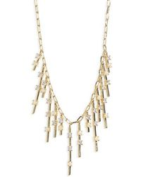 Melinda Maria - Fluted Fringe Opal Necklace - Lyst