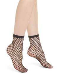 Wolford - Tina Summer Net Ankle Socks - Lyst