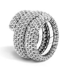 John Hardy - 'classic Chain' Double Coil Ring - Lyst