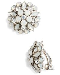 Nina | Floral Stud Earrings | Lyst