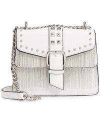 TOPSHOP - Shelby Studded Faux Leather Crossbody Bag - - Lyst