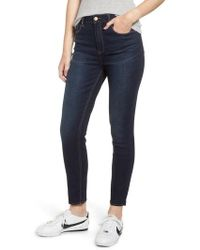 Tinsel - High Waist Ankle Skinny Jeans - Lyst