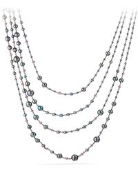 David Yurman - Solari Pearl & Bead Multistrand Necklace - Lyst