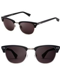 7020a9b885 Lyst - Brooks Brothers Plastic Pilot Sunglasses in Black for Men