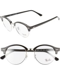 1078bca17e Lyst - Ray-Ban 5356 54mm Optical Glasses - Gradient Grey in Gray