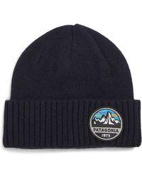 52006c0b145 Lyst - Patagonia Brodeo Wool Stocking Cap in Orange for Men