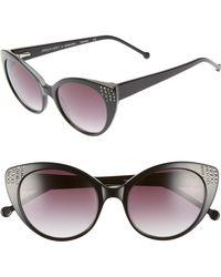 Colors In Optics - Seema 52mm Gradient Lens Cat Eye Sunglasses - Lyst