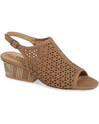 Vaneli - Candra Perforated Sandal - Lyst