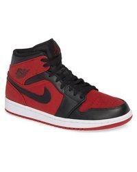 Nike - 'air Jordan 1 Mid' Sneaker - Lyst