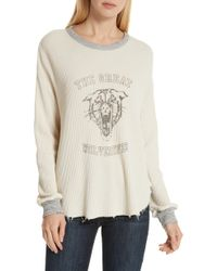 The Great - The Circle Thermal Tee - Lyst