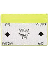 MCM - Wilder Visetos Card Case - - Lyst