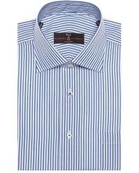 Robert Talbott - Tailored Fit Stripe Dress Shirt - Lyst