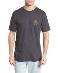 Hurley - Paradise Script T-shirt - Lyst