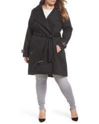 French Connection - Flowy Belted Trench Coat - Lyst