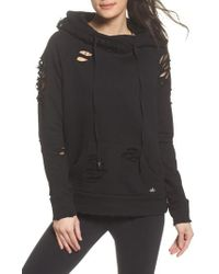 Alo Yoga - Ripped Hoodie - Lyst