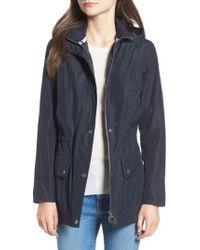 Barbour - Kinnordy Waterproof Hooded Jacket - Lyst