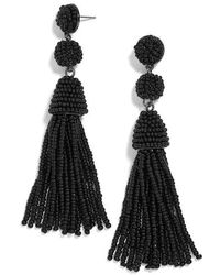 BaubleBar - Pinata Beaded Tassel Earrings - Lyst
