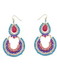 Nakamol - Magnesite & Agate Statement Earrings - Lyst