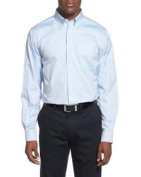 Nordstrom - Smartcare(tm) Traditional Fit Pinpoint Dress Shirt - Lyst