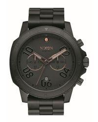 Nixon - 'ranger' Chronograph Bracelet Watch - Lyst