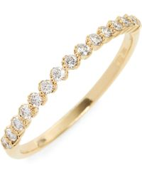 Bony Levy - Stackable Diamond Ring (nordstrom Exclusive) - Lyst