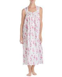 Eileen West - Cotton Lawn Ballet Nightgown - Lyst