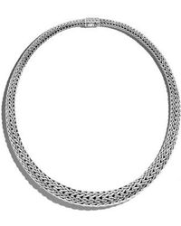 John Hardy | Classic Chain Graduated Necklace | Lyst