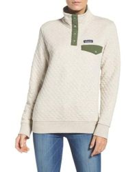 Patagonia - Quilted Pullover - Lyst