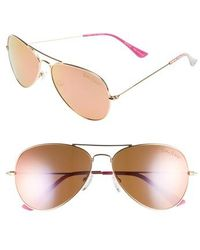 Lilly Pulitzer - Lilly Pulitzer Lexy 59mm Polarized Aviator Sunglasses - Lyst