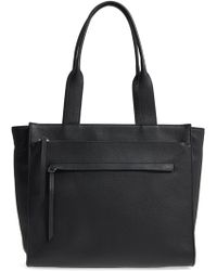 Nordstrom - Finn Pebbled Leather Tote - Lyst